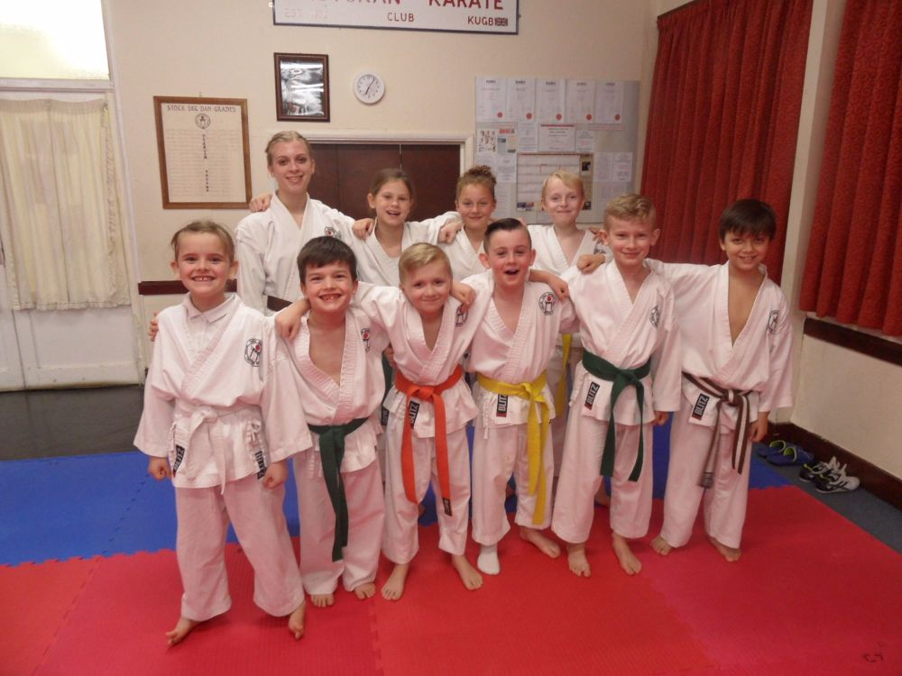 Club Kyu grading March 2017