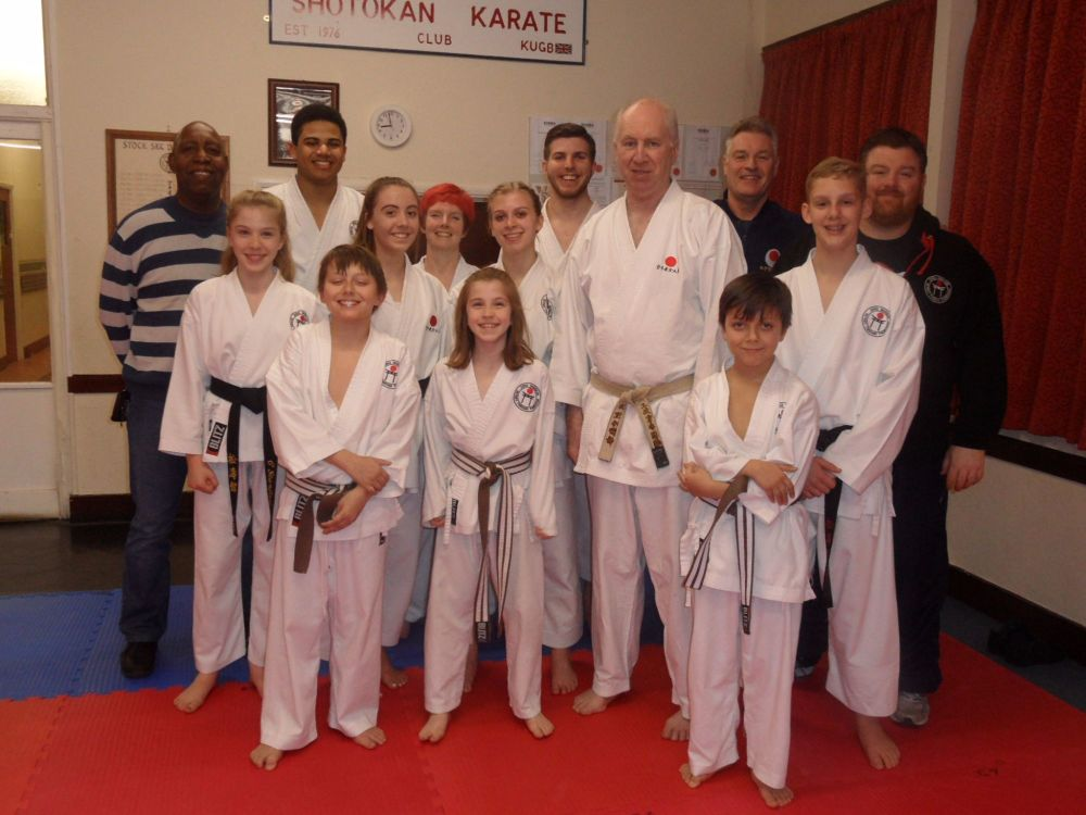 Lesson with Sensei Poynton March 2017