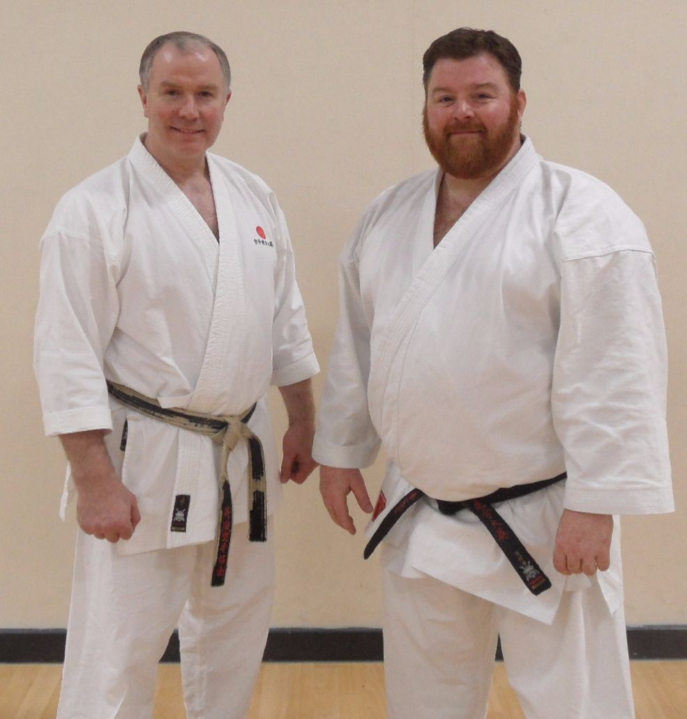 Sensei Brennan Course Ipswich April 2017