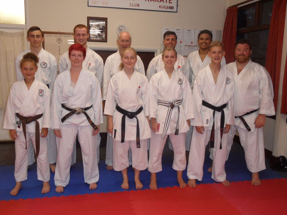 lesson with Sensei Poynton 6 July 2017