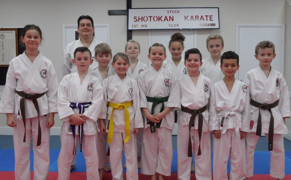 Club Kyu Grading 15th March 2018