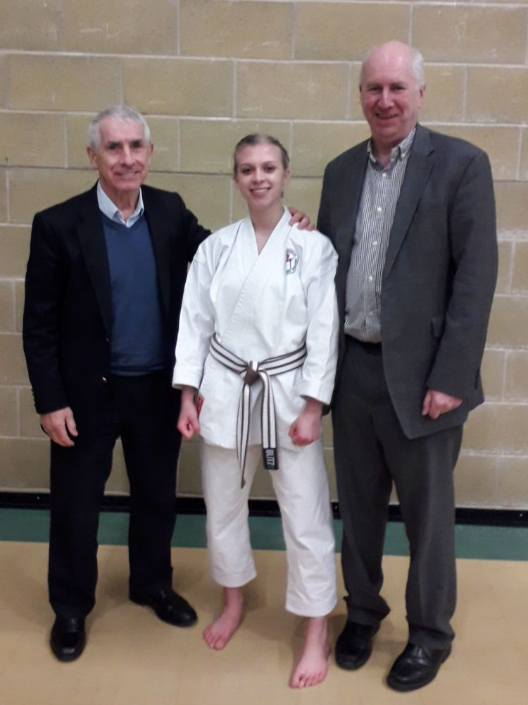 Eloise with Sensei`s Sherry and Poynton