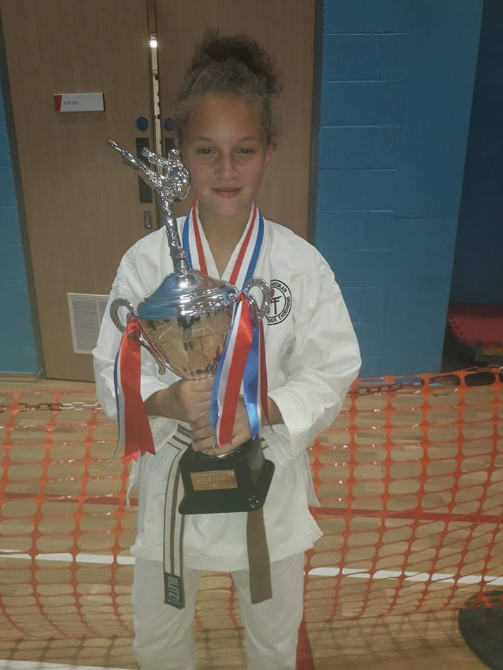 Skye Shotokan Cup Champion