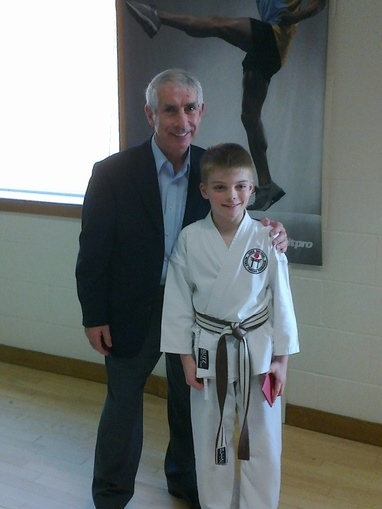 Sensei Sherry and Bradley