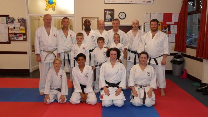 Training with Sensei Bob Poynton 28 June 2012