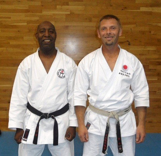 Sensei`s passes 5th and 4th Dan