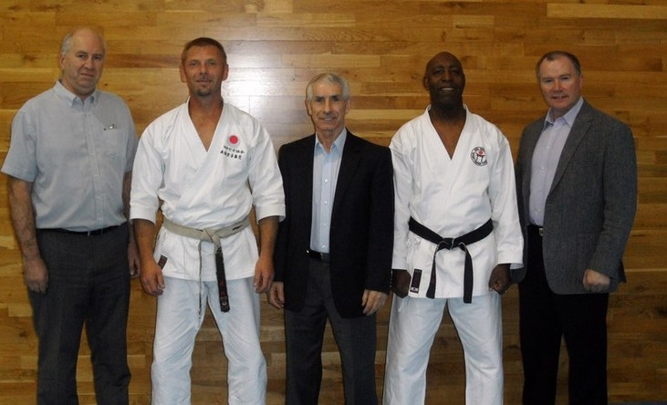 Sensei`s Bob, Graham, Andy, Terry and Frank