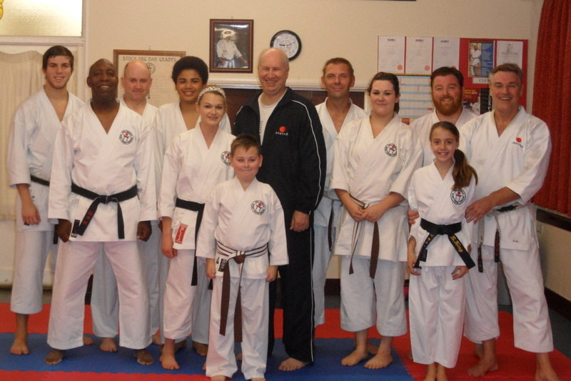 group with Sensei Poynton