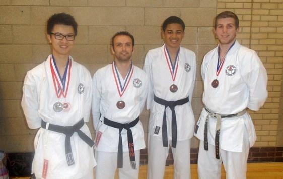 Southern Region 2013 Medal Winners