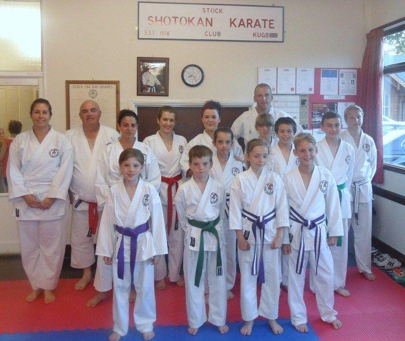 Club Kyu Grading 18-7-2013