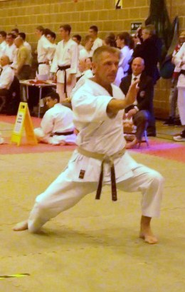 Sensei Graham 38th Shotokan Cup