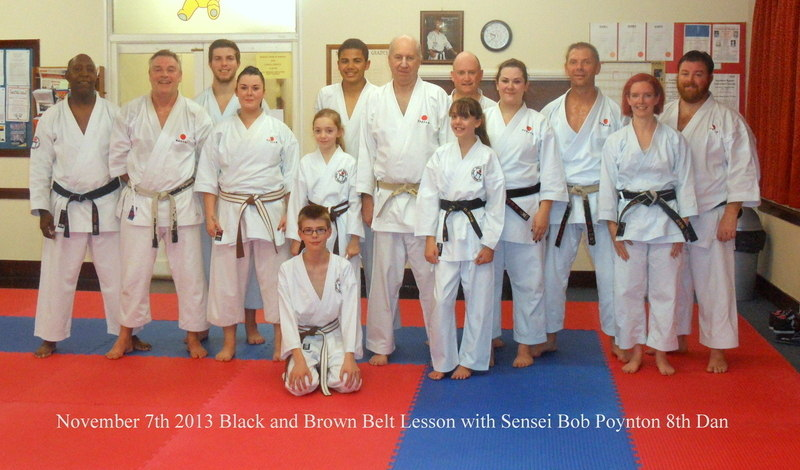 Lesson with Sensei Bob Nov 2013