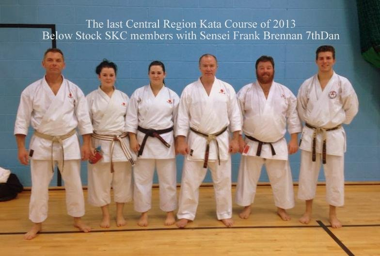 Last Central Region Kata Course of 2013