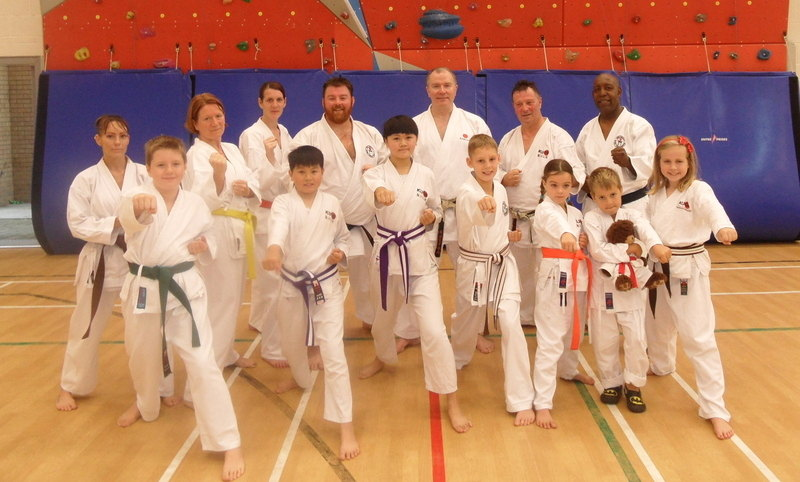 Shoeburyness lesson with Sensei Brennan 1st Nov 2014