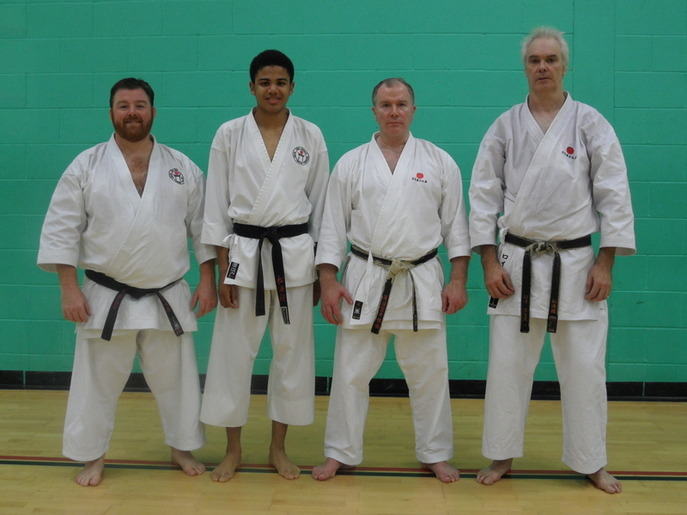 Stock SKC members with Sensei Frank