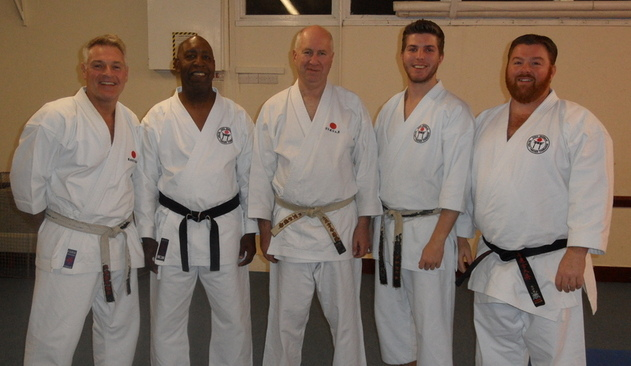 Club Instructors with Sensei Poynton