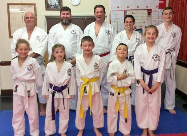 1 Club Kyu Grading 12 march 2015