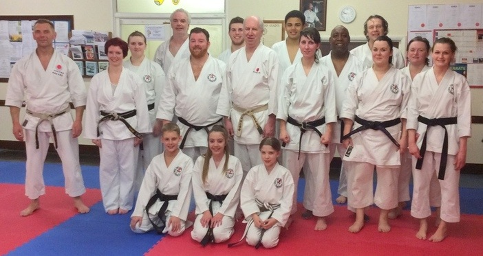 Lesson with Sensei Bob 12 March 2015