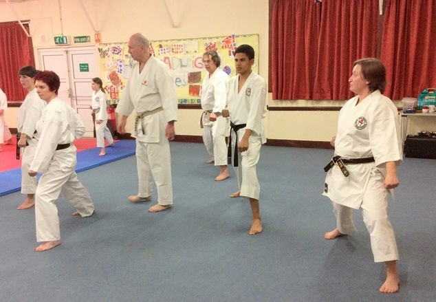 Lesson with Sensei Bob p1 12 March 2015