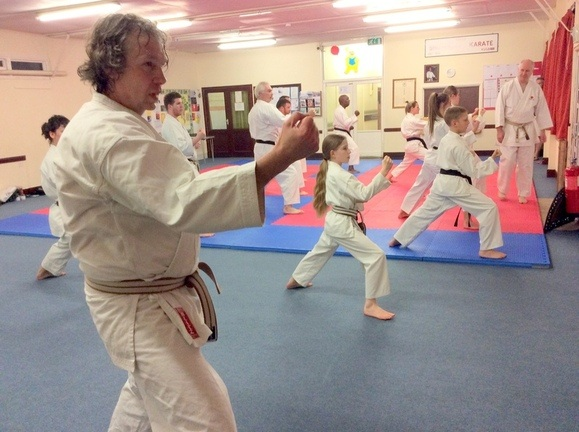 Lesson with Sensei Bob p3 12 March 2015