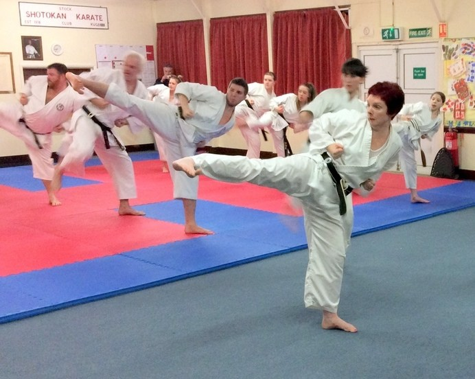 Lesson with Sensei Bob p4 12 March 2015