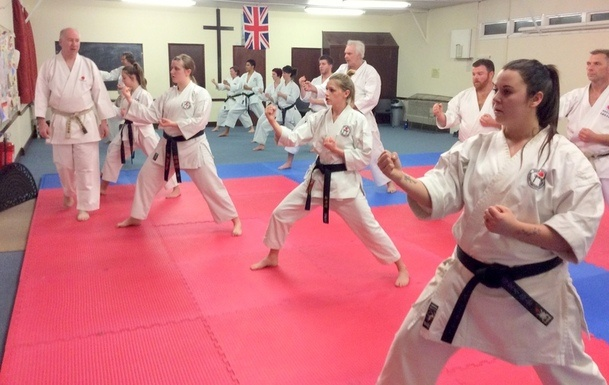 Lesson with Sensei Bob p5 12 March 2015