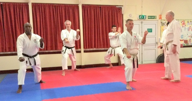 Lesson with Sensei Bob p7 12 March 2015