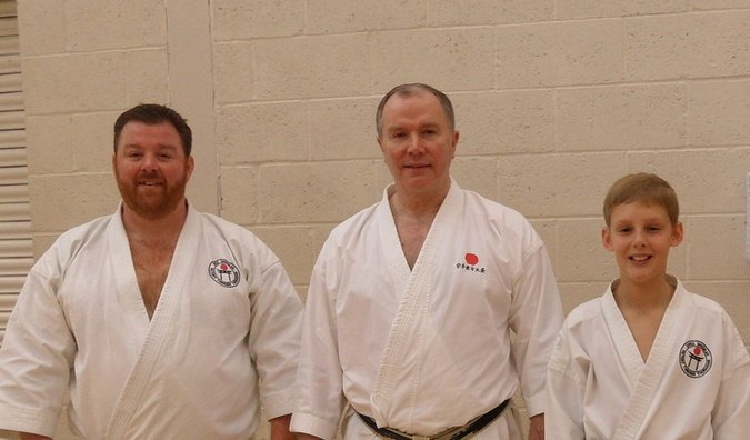 Shoebury course Sensei Brennan 2015