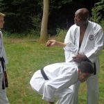 Sensei Terry showing Lee how its done
