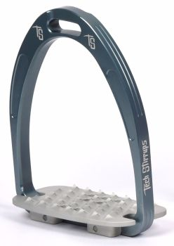 Tech Iris Classic Cross-Country Stirrups - Blue Silver (£107.50 Exc VAT & £129.00 Inc VAT)