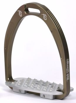 Tech Iris Classic Cross-Country Stirrups - Gun Metal Grey (£107.50 Exc VAT & £129.00 Inc VAT)