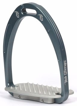 Tech Athena Classic Jumping Stirrups - Blue Silver (£107.50 Exc VAT & £129.00 Inc VAT)