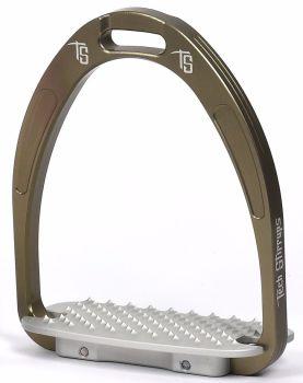 Tech Athena Classic Jumping Stirrups - Gun Metal Grey (£107.50 Exc VAT & £129.00 Inc VAT)