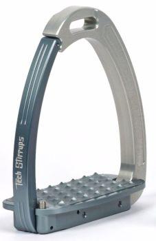 Tech Venice Magnetic Safety Stirrups - Silver/Blue Silver (£190.83 Exc VAT & £229.00 Inc VAT)