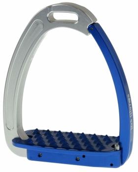 Tech Venice Magnetic Safety Stirrups - Blue/Silver (£190.83 Exc VAT & £229.00 Inc VAT)