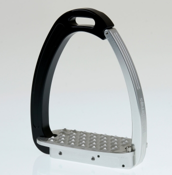 Tech Venice Magnetic Safety Stirrups - Silver/Black (£190.83 Exc VAT & £229.00 Inc VAT)