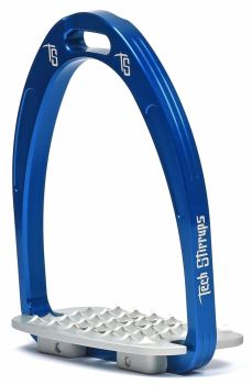 Tech Iris Classic Cross-Country Stirrups - Blue (£107.50 Exc VAT & £129.00 Inc VAT)