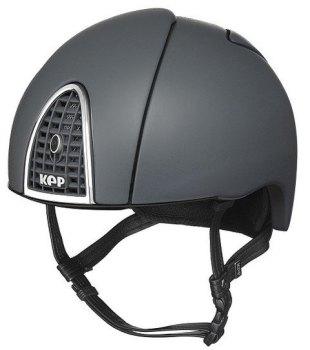 KEP Jockey/Eventing Riding Helmet - Grey (£387.50 Exc VAT or £465.00 Inc VAT)