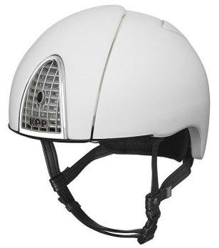 KEP Jockey/Endurance Rainbow Riding Helmet - White (£404.17 Exc VAT or £485.00 Inc VAT)