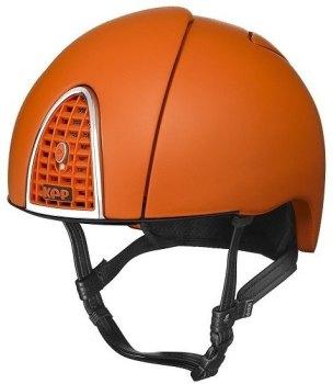 KEP Jockey/Endurance Rainbow Riding Helmet - Orange (£404.17 Exc VAT or £485.00 Inc VAT)