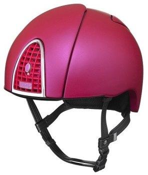 KEP Jockey/Endurance Rainbow Riding Helmet - Rich Pink (£404.17 Exc VAT or £485.00 Inc VAT)