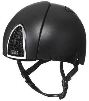 KEP Jockey/Eventing Riding Helmet - Black (£387.50 Exc VAT or £465.00 Inc VAT)