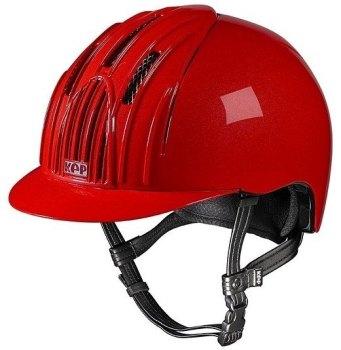 KEP Cromo Endurance Riding Helmet - Red (£232.50 Exc VAT & £279.00 Inc VAT)
