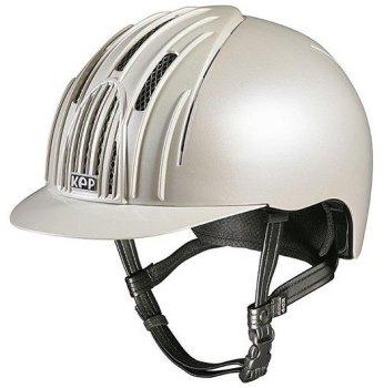 KEP Cromo Endurance Riding Helmet - White (£232.50 Exc VAT & £279.00 Inc VAT)