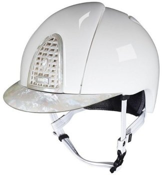 KEP Cromo Polish White with Mother of Pearl 3 Visor, Back Panel & Surround (£733.33 Exc VAT or £880.00 Inc VAT)