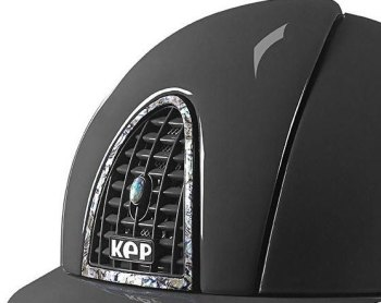 KEP Cromo Polish Grey with Rear Panel, Surround and Vent Button in Abalone (£1075.00 Exc VAT & £1290.00 Inc VAT)