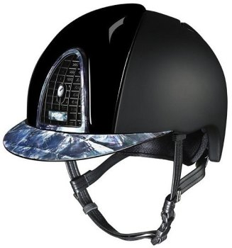 KEP Cromo Textile Shine Inserts with Mother of Pearl 2 Visor, Surround & Back Panel (£979.17 Exc VAT or £1175.00 Inc VAT)