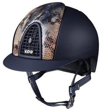 KEP Cromo Textile Blue Vegetal Naif Python, Matt Blue Grill & Vent (£620.83 Exc VAT or £745.00 Inc VAT)