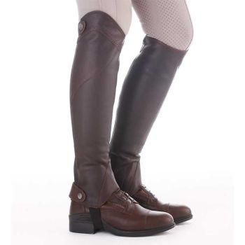 "Kavalkade Half Chaps ""Remus"" - Black or Brown Leather (Price Exc VAT £70.83 or £85.00 Inc VAT)"