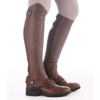 "Kavalkade Half Chaps ""Valerius"" - Black or Brown Leather (Price Exc VAT £65.83 or £79.00 Inc VAT)"
